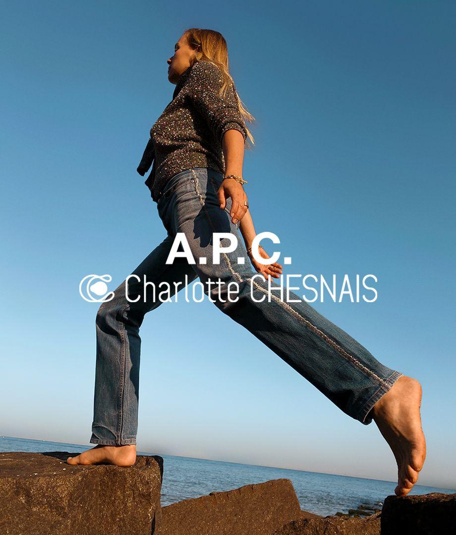 A.P.C. X CHARLOTTE CHESNAIS